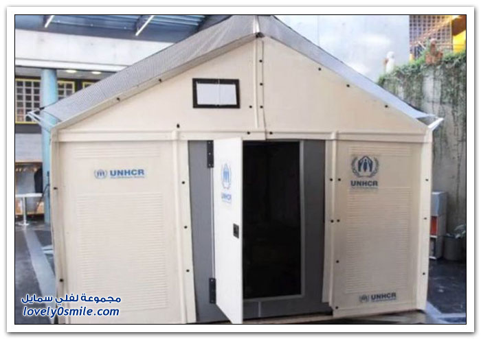 شقق مبتكرة للاجئين من إيكيا
