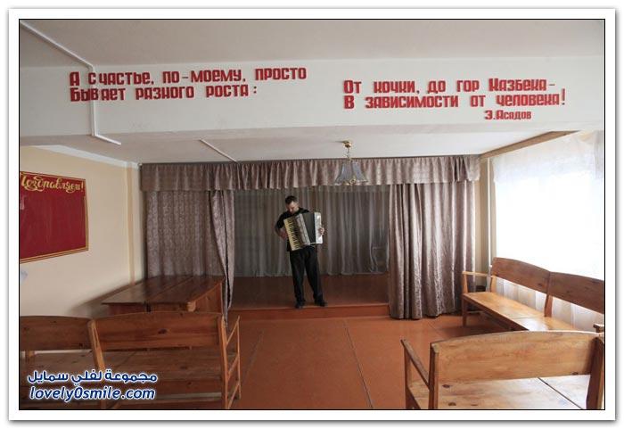 الحياة في أحد سجون سيبيريا