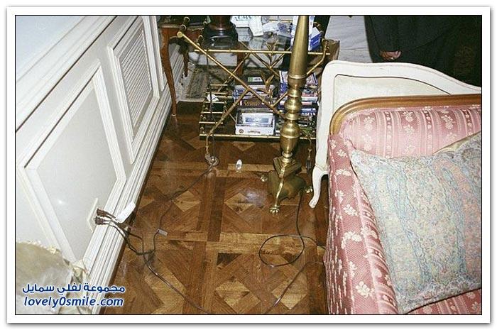 غرفة نوم مايكل جاكسون يوم وفاته