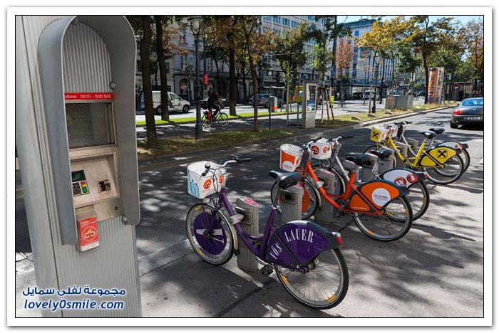 استئجار الدراجات الهوائية في موسكو