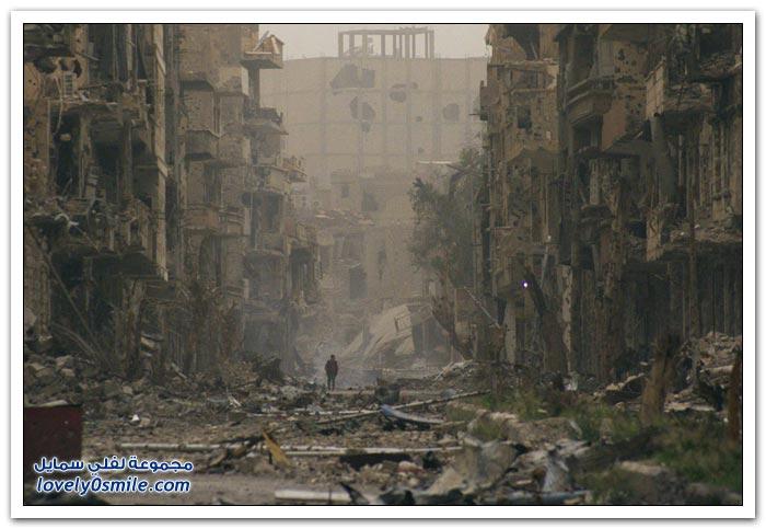 ويستمر التدمير في سوريا الحبيبة