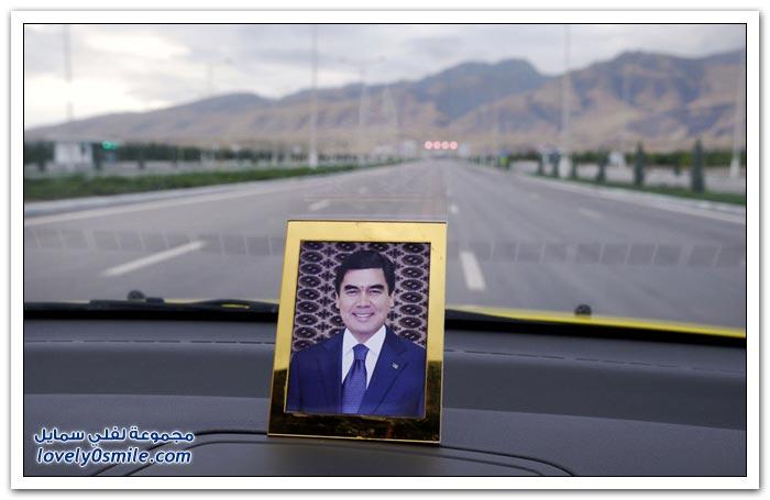 مدينة الرخام الأبيض, عشق آباد، تركمانستان