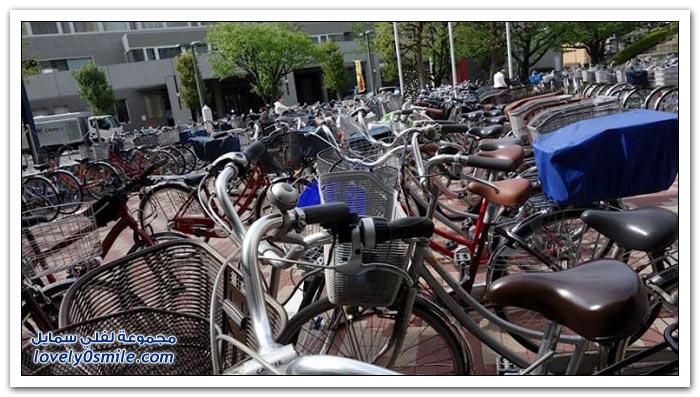 تكنولوجيا صف الدراجات في اليابان