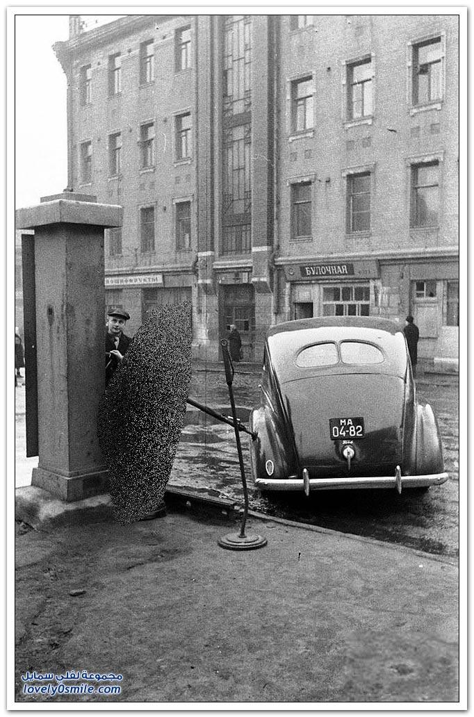 محطات الغاز أيام الاتحاد السوفيتي