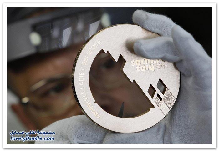 صناعة الميداليات الأولمبية