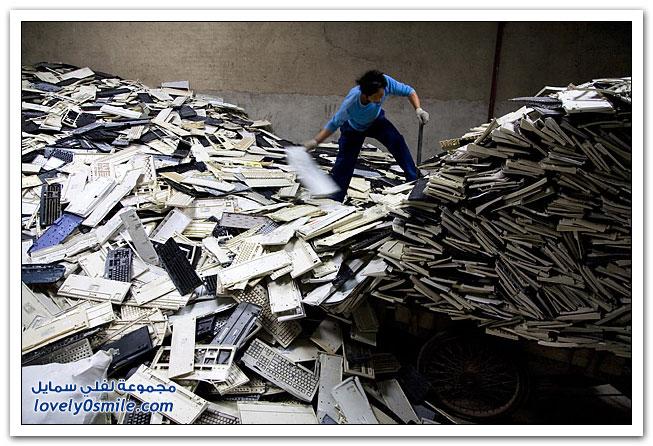 مصير جهازك الإلكتروني القديم