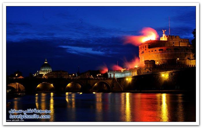 الاحتفال بصيف روما