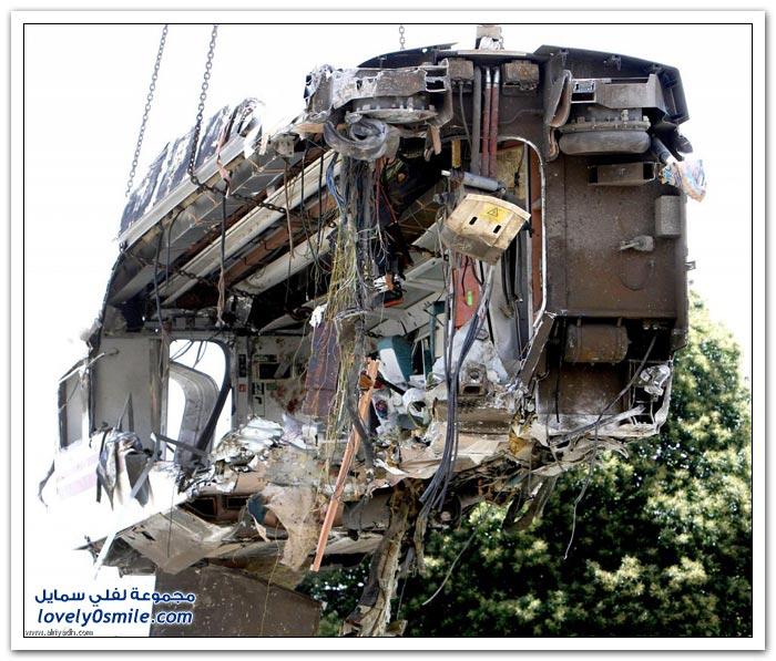 كارثة القطار الأسباني