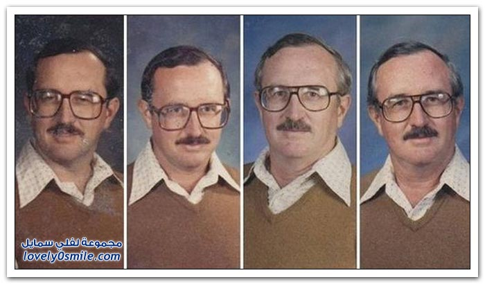 مدرس لـ 40 عاما دائما نفس الملابس