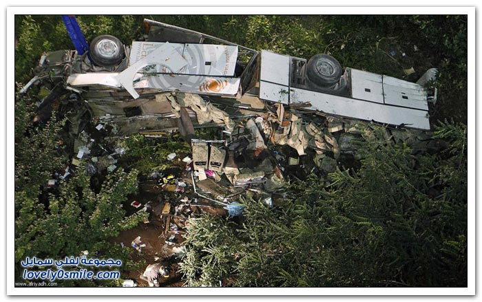 سقوط حافلة ركاب في إيطاليا
