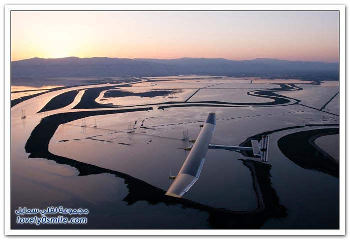 أول طائرة تعمل بالطاقة الشمسية تنهي جولتها التجريبية
