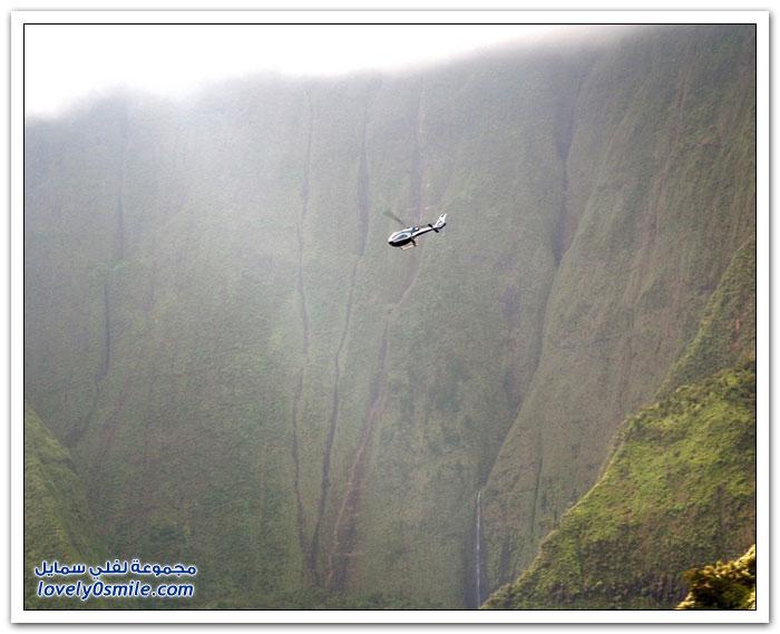جدار الدموع في جبل وياليل بهاواي