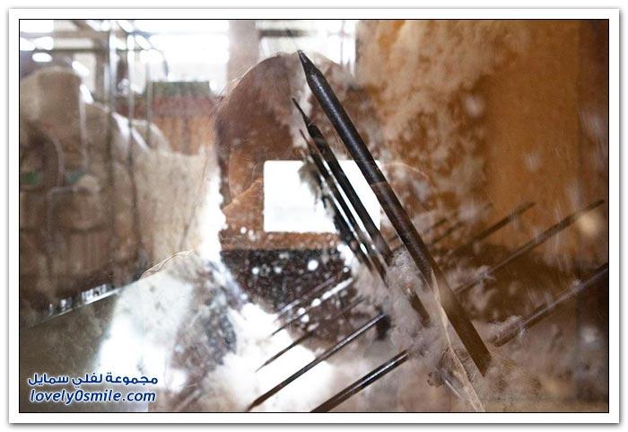 بعض الصور لكيفية صناعة الوسائد في روسيا