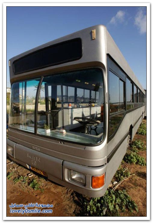 تحويل حافلة نقل ركاب إلى منزل