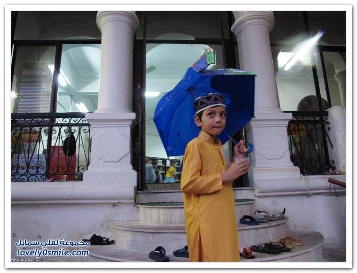العيد في وجوه الأطفال