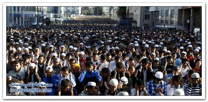 صلاة العيد حول العالم