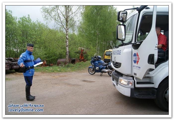 التاكوغراف جاسوس الشاحنات الأوروبية الثقيلة