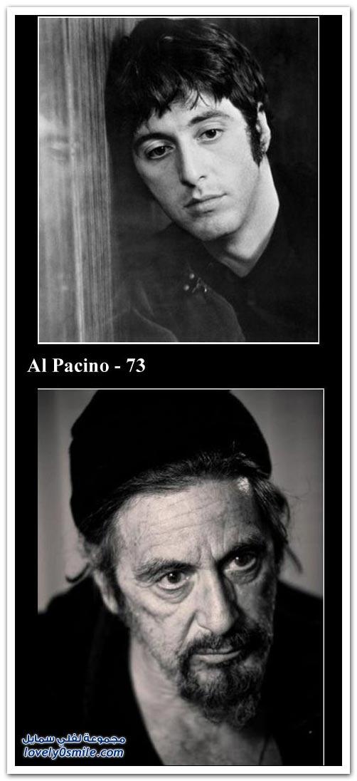 مشاهير الفنانين بين الماضي والحاضر