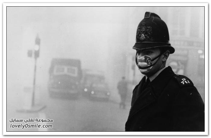 الضباب في لندن عام 1952م