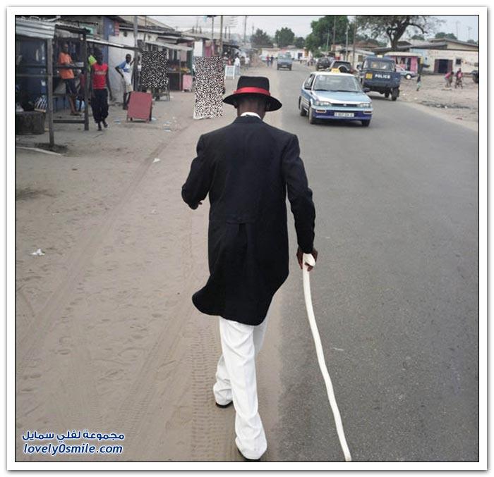 كيف تكون الأناقة في الكونغو ؟