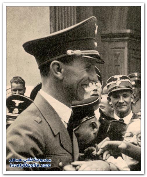 وزير الدعاية لهتلر جوزيف غوبلز