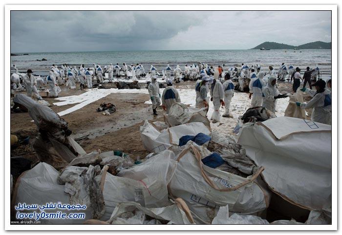 تنظيف شاطئ كو سامت