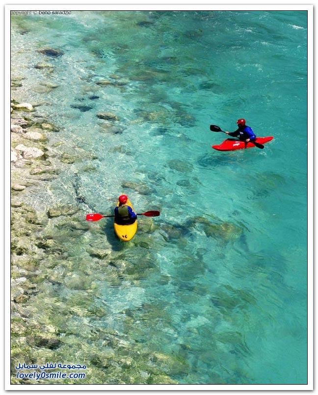 نهر الزمرد أعجوبة مائية طولها 136 كيلومتراً