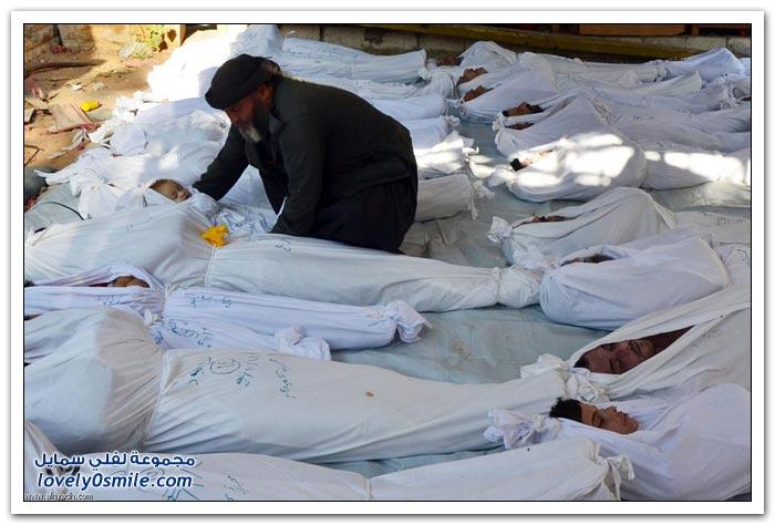 مجزرة الغوطة في سوريا
