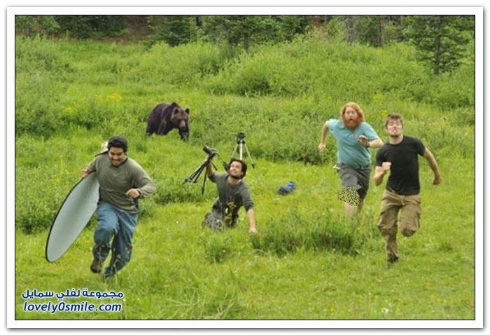 صور للمصورين أثناء التقاط الصور