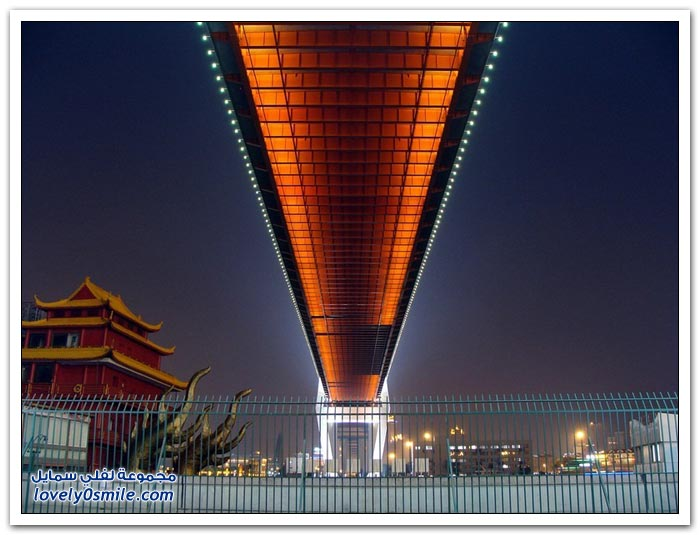 جسر نانبو شانغهاي في الصين