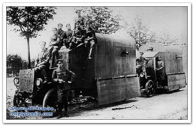 تقنيات الحرب العالمية الأولى