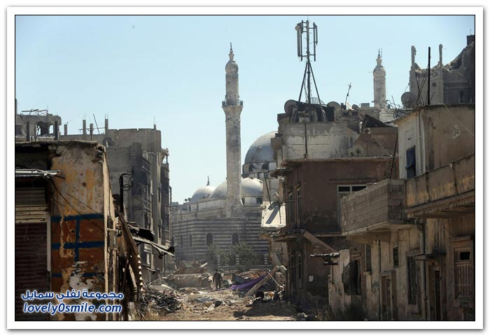 سوريا ما بين الخراب والدمار