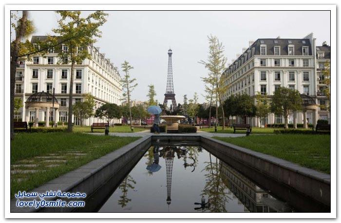 مدينة باريس الصينية تتحول إلى مدينة أشباح