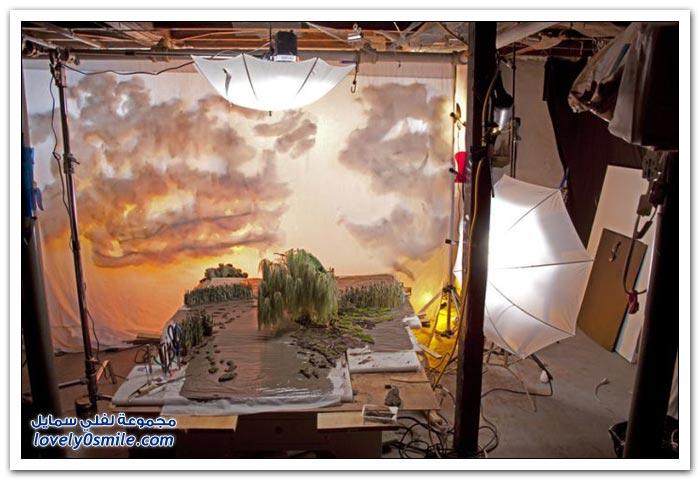 أعمال إبداعية لإعادة تشكيل المناظر الطبيعية بطريقة أقرب إلى الواقع