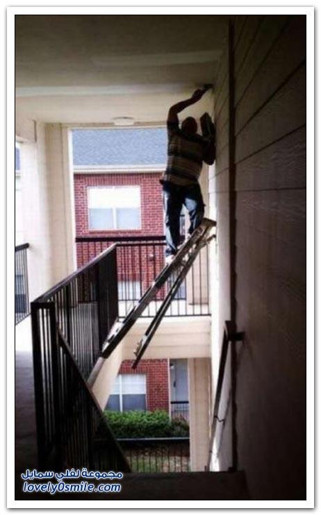 بعض الناس يجعل السلامة أخر اهتماماته