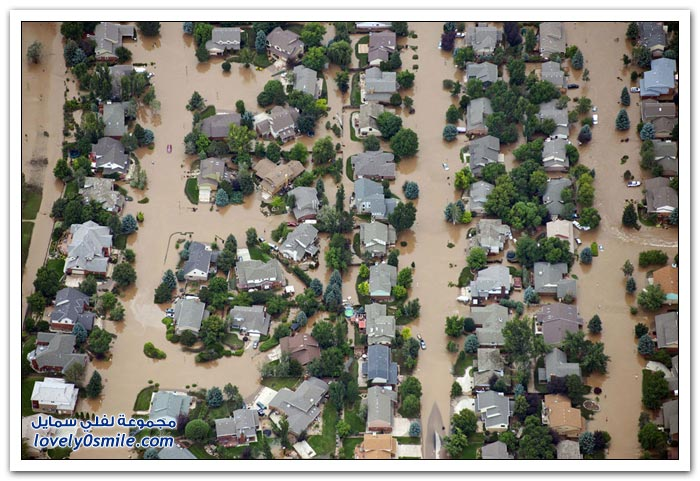 الفيضانات في ولاية كولورادو