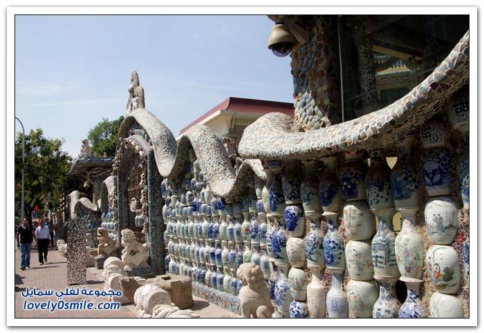 بيت من الخزف بمدينة تيانجين بالصين