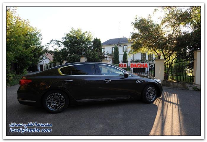 نظرة على سيارة كيا كوريس