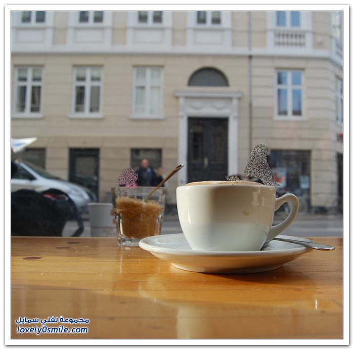قهوة الصباح في بلدان مختلفة من العالم