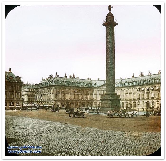 باريس بين الماضي والحاضر