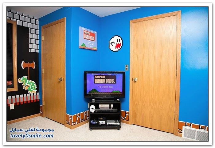 غرفة على نمط سوبر ماريو بروس