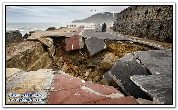 كوارث المجاري حول العالم
