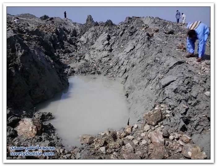 الجزيرة الجديدة التي تكونت بعد زلزال باكستان