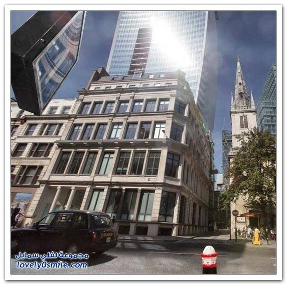 ناطحة السحاب (تووكي ووكي) تزعج سكان لندن