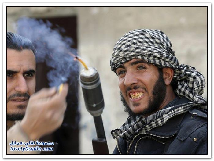 أسلحة صناعة الجيش السوري الحر