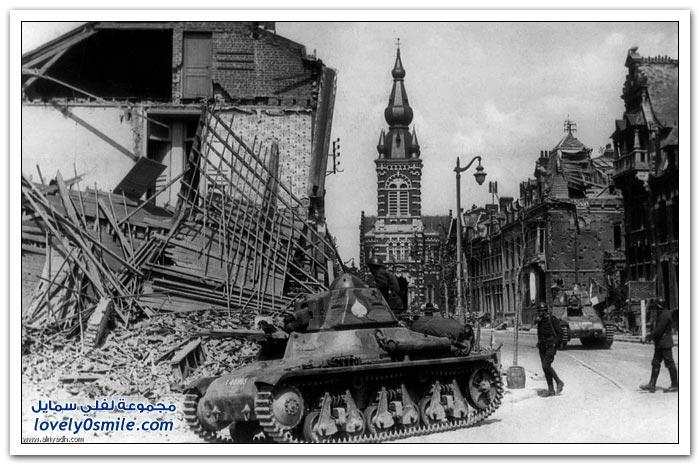 الحرب العالمية الثانية - استسلام فرنسا