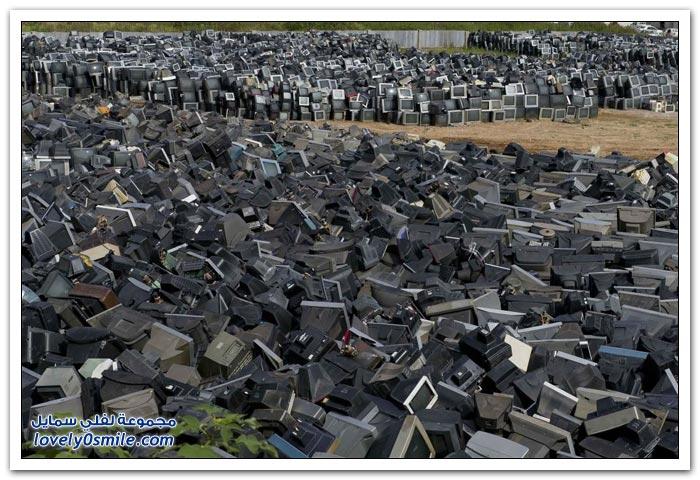 مقبرة التلفزيونات في أحد المدن الصينية