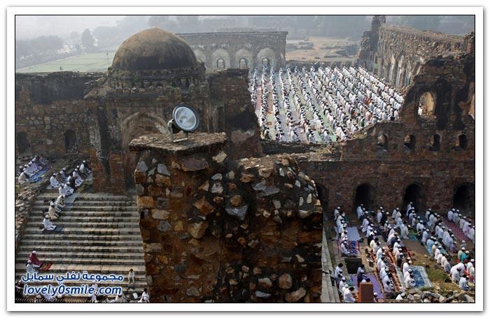 عيد الأضحى حول العالم لعام 1434هـ