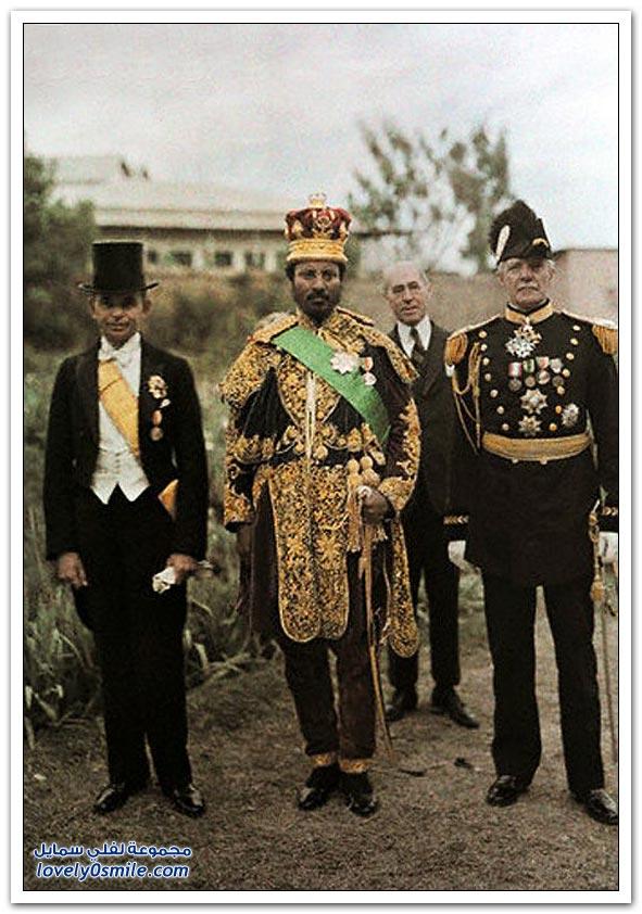 إثيوبيا في عام 1931 بالألوان