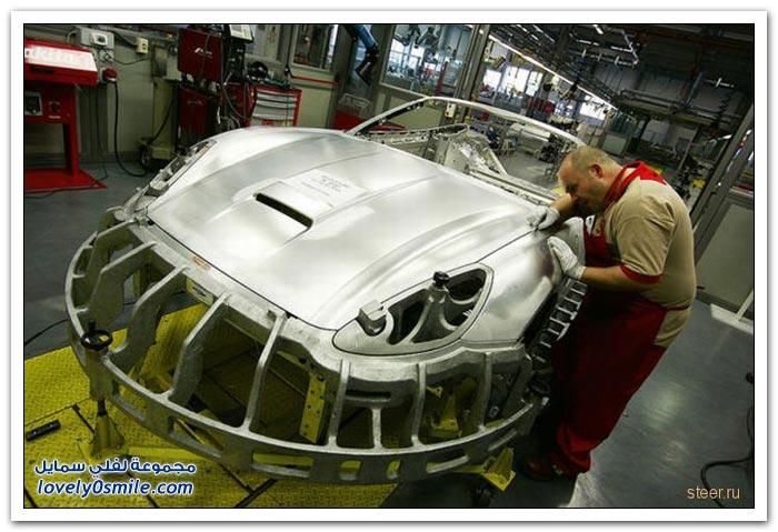 مصنع تجميع سيارات فيراري
